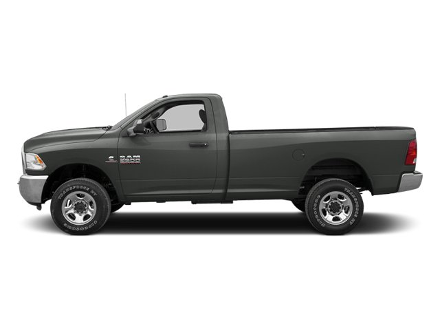 Mineral Gray Metallic 2013 Ram Truck 3500 Pictures 3500 Regular Cab SLT 2WD photos side view