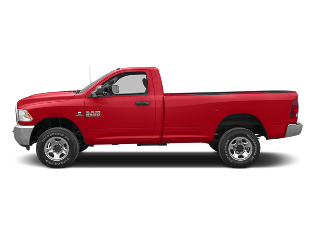 Flame Red 2013 Ram Truck 3500 Pictures 3500 Regular Cab SLT 2WD photos side view