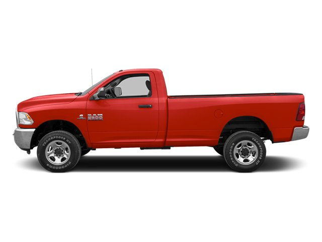 Flame Red 2013 Ram Truck 2500 Pictures 2500 Regular Cab SLT 4WD photos side view