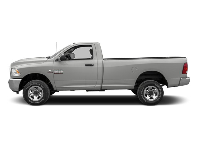 Bright Silver Metallic 2013 Ram Truck 3500 Pictures 3500 Regular Cab SLT 2WD photos side view