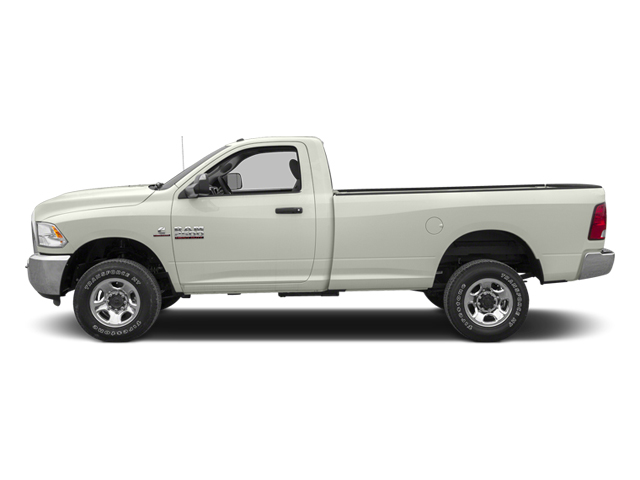 Bright White 2013 Ram Truck 2500 Pictures 2500 Regular Cab SLT 4WD photos side view