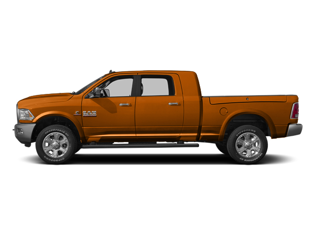 Omaha Orange 2013 Ram Truck 3500 Pictures 3500 Mega Cab SLT 4WD photos side view