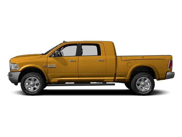 Case Construction Yellow 2013 Ram Truck 3500 Pictures 3500 Mega Cab SLT 4WD photos side view