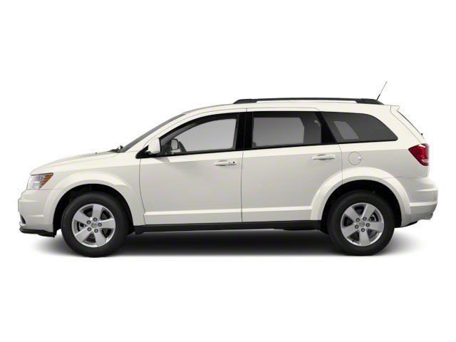 Pearl White Tri-coat 2013 Dodge Journey Pictures Journey Utility 4D SXT AWD photos side view