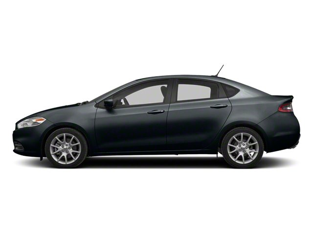 Maximum Steel Metallic 2013 Dodge Dart Pictures Dart Sedan 4D Aero I4 Turbo photos side view