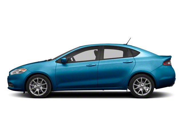 Laguna Blue 2013 Dodge Dart Pictures Dart Sedan 4D GT I4 photos side view