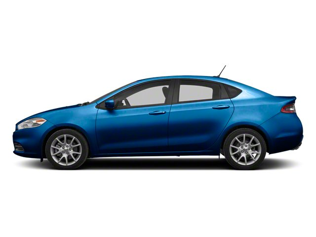 Blue Streak Pearl 2013 Dodge Dart Pictures Dart Sedan 4D GT I4 photos side view