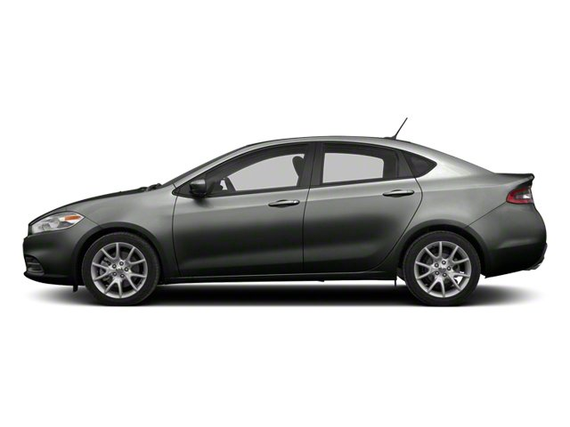 Tungsten Metallic 2013 Dodge Dart Pictures Dart Sedan 4D GT I4 photos side view