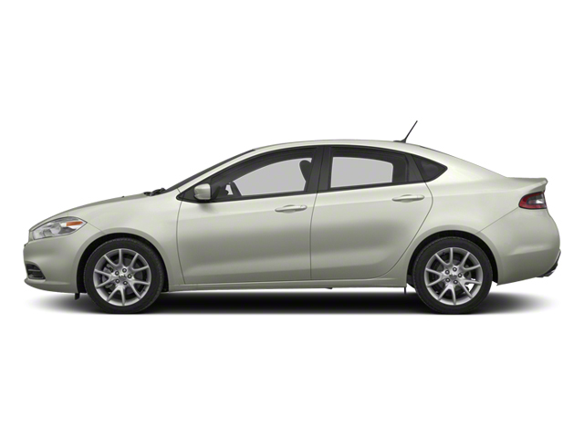 Bright White 2013 Dodge Dart Pictures Dart Sedan 4D GT I4 photos side view