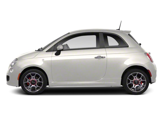 Bianco (White) 2013 FIAT 500 Pictures 500 Hatchback 3D Pop I4 photos side view