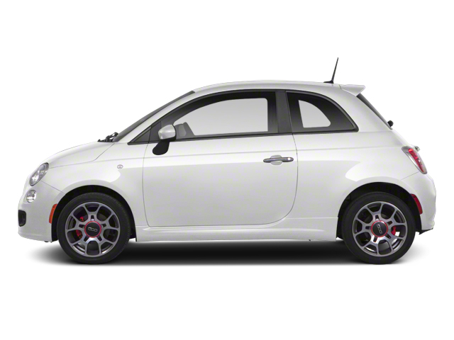 Gucci White 2013 FIAT 500 Pictures 500 Hatchback 3D Lounge I4 photos side view