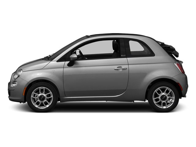 Grigio (Gray) 2013 FIAT 500 Pictures 500 Convertible 2D Pop I4 photos side view