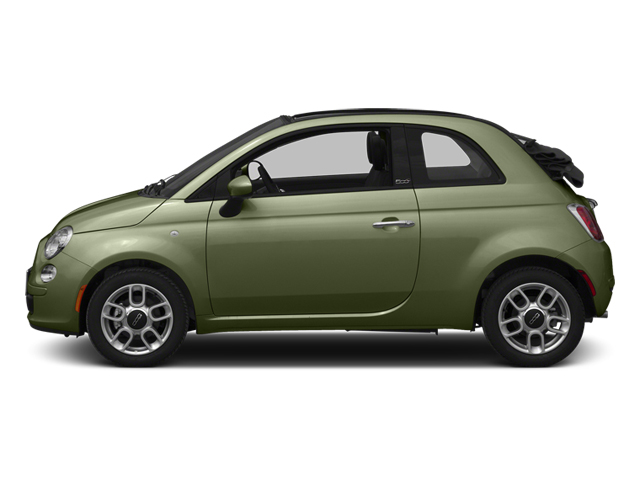 Verde Oliva (Olive Green) 2013 FIAT 500 Pictures 500 Convertible 2D Pop I4 photos side view