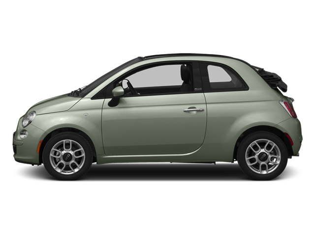 Verde Chiaro (Light Green) 2013 FIAT 500 Pictures 500 Convertible 2D Pop I4 photos side view