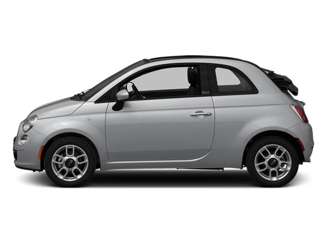Argento (Silver) 2013 FIAT 500 Pictures 500 Convertible 2D Pop I4 photos side view