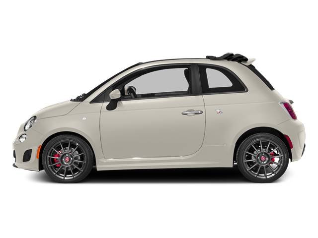 Bianco (White) 2013 FIAT 500 Pictures 500 Convertible 2D Abarth I4 photos side view
