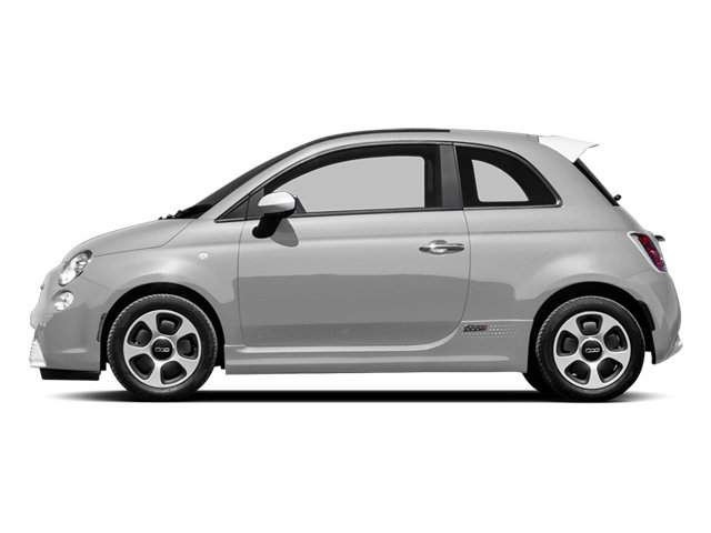 Argento (Silver) 2013 FIAT 500e BATTERY ELECTRIC Pictures 500e BATTERY ELECTRIC Hatchback 3D 500e Electric photos side view