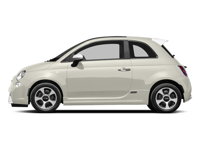 Bianco Perla (Pearl White Tri-Coat) 2013 FIAT 500e BATTERY ELECTRIC Pictures 500e BATTERY ELECTRIC Hatchback 3D 500e Electric photos side view