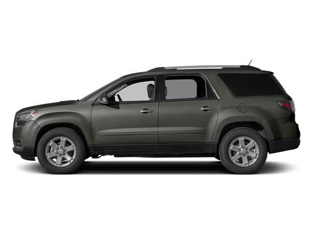 Cyber Gray Metallic 2013 GMC Acadia Pictures Acadia Utility 4D SLT2 AWD photos side view