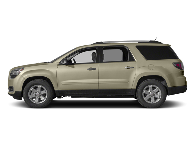 Champagne Silver Metallic 2013 GMC Acadia Pictures Acadia Utility 4D SLT2 AWD photos side view