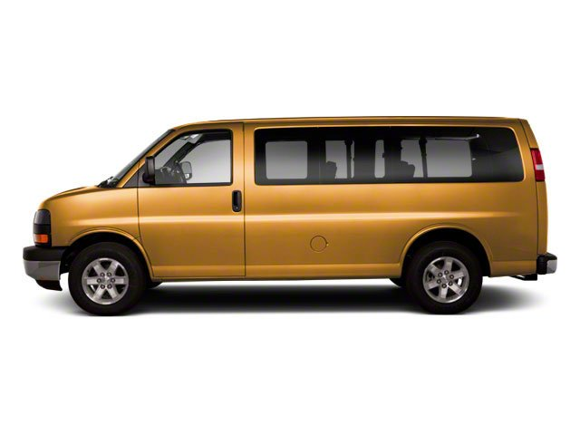 Wheatland Yellow 2013 GMC Savana Passenger Pictures Savana Passenger Savana LT 135 photos side view