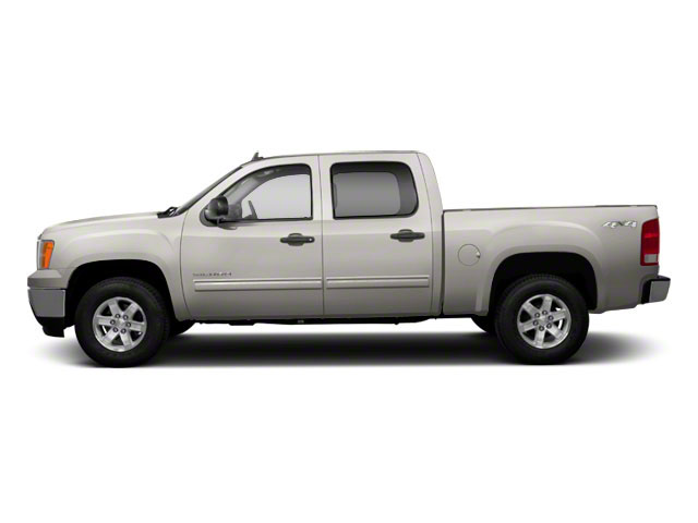 Steel Gray Metallic 2013 GMC Sierra 1500 Pictures Sierra 1500 Crew Cab SLE 2WD photos side view
