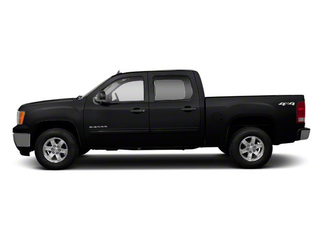 Onyx Black 2013 GMC Sierra 1500 Pictures Sierra 1500 Crew Cab SLE 2WD photos side view
