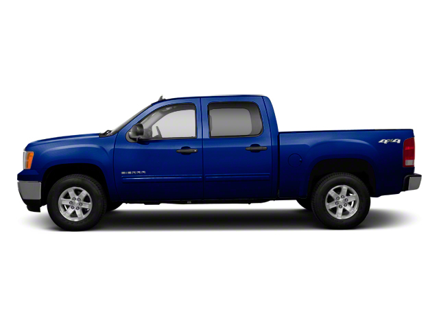Heritage Blue Metallic 2013 GMC Sierra 1500 Pictures Sierra 1500 Crew Cab SLE 2WD photos side view