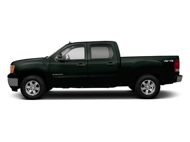 Mineral Green Metallic 2013 GMC Sierra 1500 Pictures Sierra 1500 Crew Cab SLE 2WD photos side view