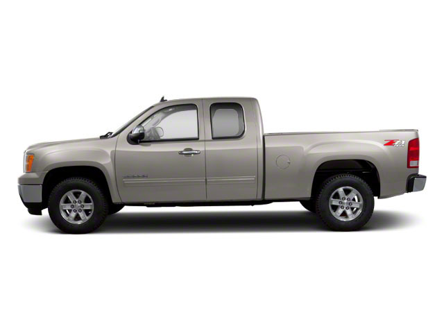 Steel Gray Metallic 2013 GMC Sierra 1500 Pictures Sierra 1500 Extended Cab SLE 4WD photos side view