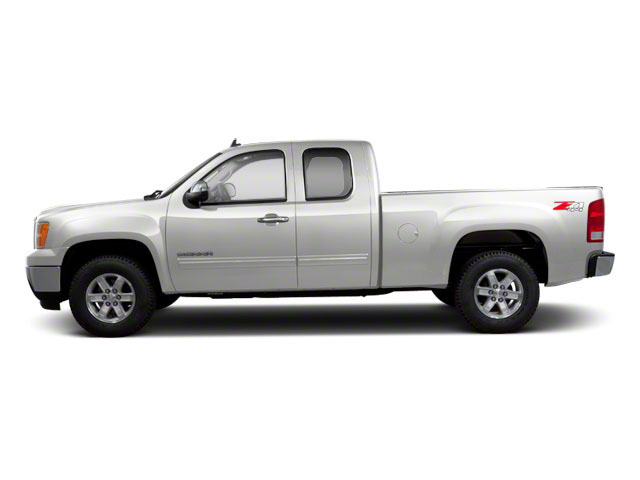 Quicksilver Metallic 2013 GMC Sierra 1500 Pictures Sierra 1500 Extended Cab SLE 4WD photos side view