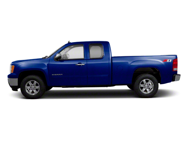 Heritage Blue Metallic 2013 GMC Sierra 1500 Pictures Sierra 1500 Extended Cab SLE 4WD photos side view
