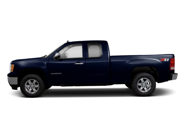 Deep Indigo Metallic 2013 GMC Sierra 1500 Pictures Sierra 1500 Extended Cab SLE 4WD photos side view