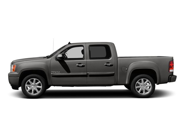 Steel Gray Metallic 2013 GMC Sierra 1500 Pictures Sierra 1500 Crew Cab Denali AWD photos side view