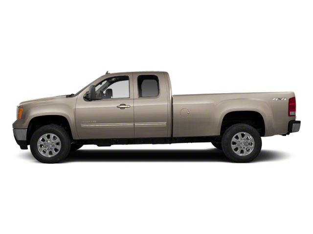 Steel Gray Metallic 2013 GMC Sierra 2500HD Pictures Sierra 2500HD Extended Cab SLE 4WD photos side view