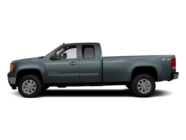 Stealth Gray Metallic 2013 GMC Sierra 2500HD Pictures Sierra 2500HD Extended Cab SLE 4WD photos side view