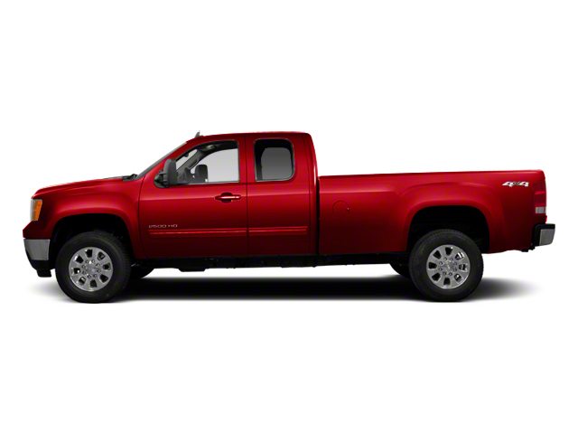 Sonoma Red Metallic 2013 GMC Sierra 2500HD Pictures Sierra 2500HD Extended Cab SLE 4WD photos side view