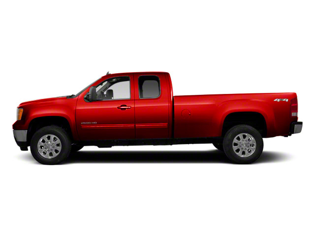 Fire Red 2013 GMC Sierra 2500HD Pictures Sierra 2500HD Extended Cab SLE 4WD photos side view
