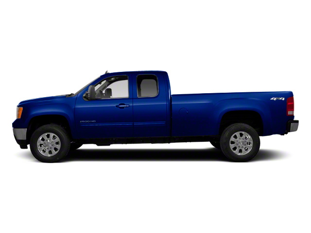 Heritage Blue Metallic 2013 GMC Sierra 2500HD Pictures Sierra 2500HD Extended Cab SLE 4WD photos side view