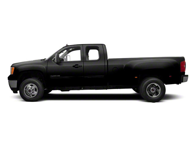 Onyx Black 2013 GMC Sierra 3500HD Pictures Sierra 3500HD Extended Cab SLT 2WD photos side view