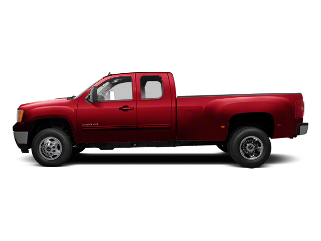 Sonoma Red Metallic 2013 GMC Sierra 3500HD Pictures Sierra 3500HD Extended Cab SLT 2WD photos side view