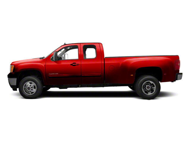 Fire Red 2013 GMC Sierra 3500HD Pictures Sierra 3500HD Extended Cab SLT 2WD photos side view