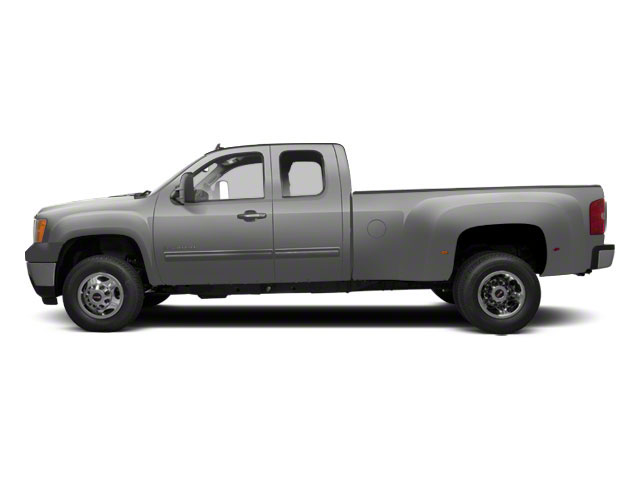 Quicksilver Metallic 2013 GMC Sierra 3500HD Pictures Sierra 3500HD Extended Cab SLT 2WD photos side view