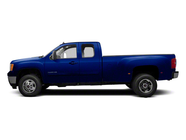 Heritage Blue Metallic 2013 GMC Sierra 3500HD Pictures Sierra 3500HD Extended Cab SLT 2WD photos side view