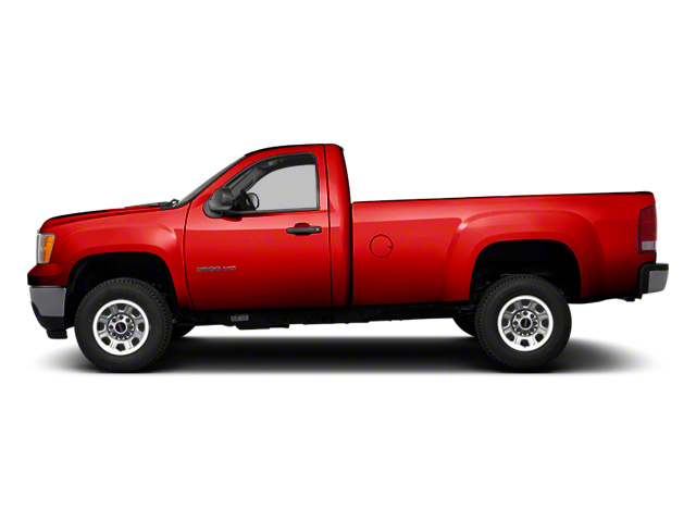 Fire Red 2013 GMC Sierra 3500HD Pictures Sierra 3500HD Regular Cab SLE 4WD photos side view
