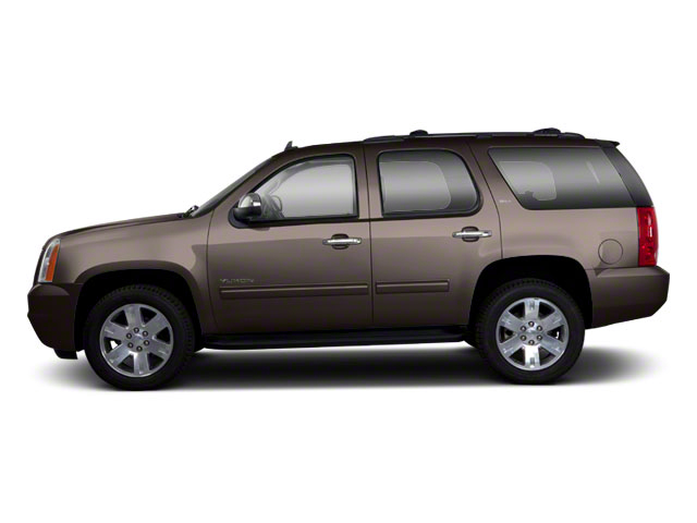 Mocha Steel Metallic 2013 GMC Yukon Pictures Yukon Utility 4D Fleet 4WD photos side view