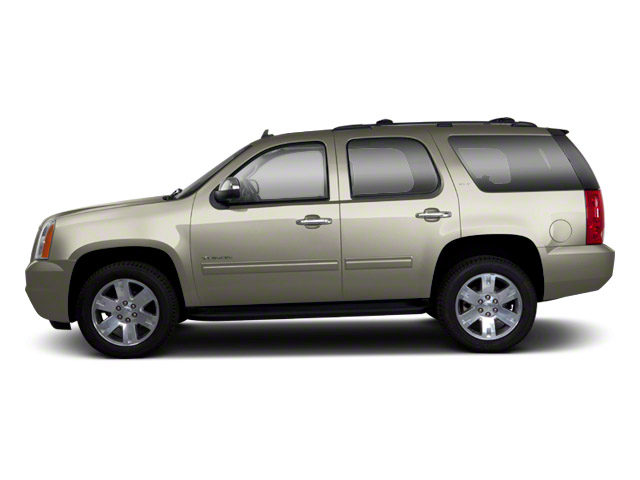 Champagne Silver Metallic 2013 GMC Yukon Pictures Yukon Utility 4D Fleet 4WD photos side view