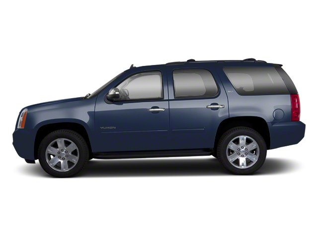 Graphite Blue Metallic 2013 GMC Yukon Pictures Yukon Utility 4D Fleet 4WD photos side view