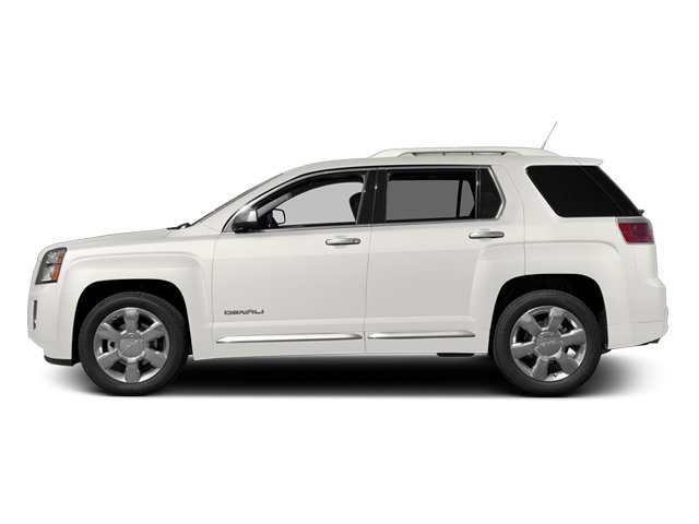 Summit White 2013 GMC Terrain Pictures Terrain Utility 4D Denali 2WD photos side view