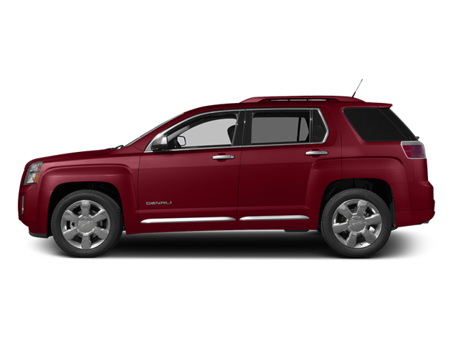 Crystal Red Tintcoat 2013 GMC Terrain Pictures Terrain Utility 4D Denali 2WD photos side view